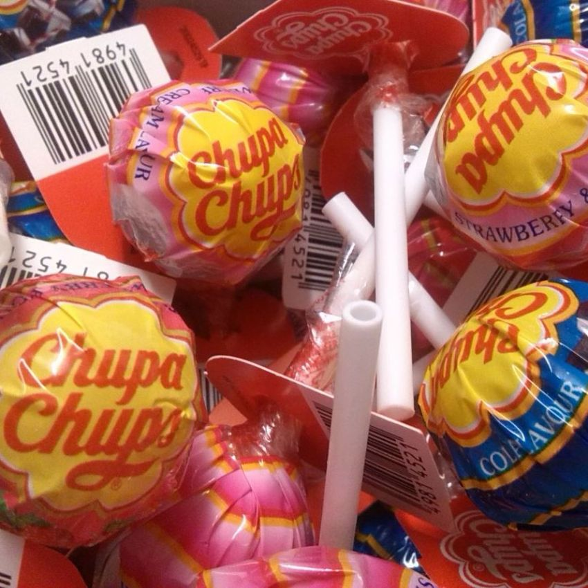 1 x BEST OF Chupa Chups Lolly Sweets Lollies 12g Each